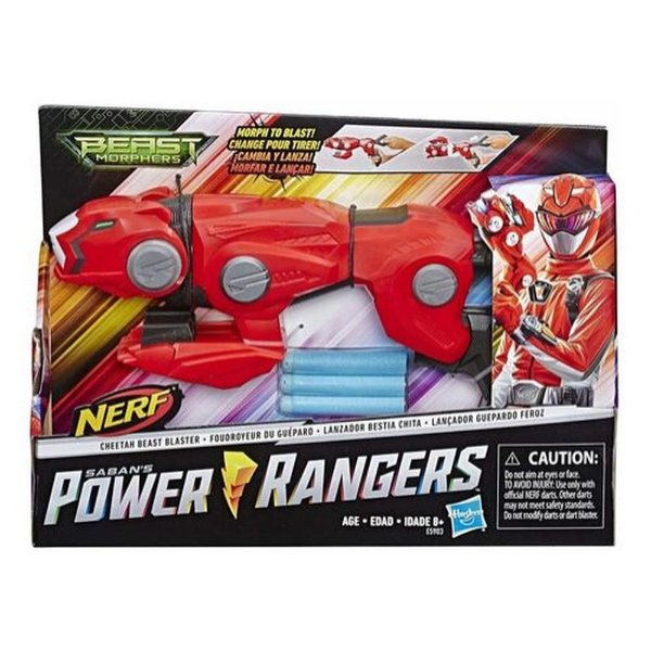 Power Rangers Lançador Nerf Guepardo