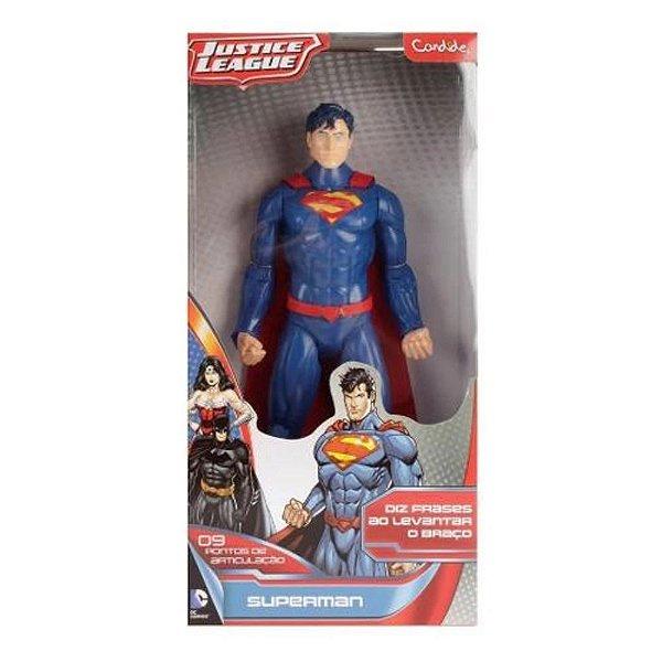 Boneco Superman U14POL Com Som