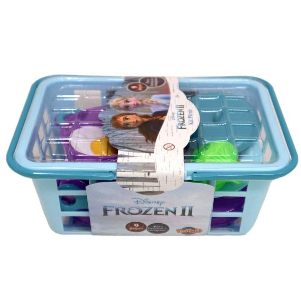 Kit Cozinha com  Cestinha Picnic Frozen 2
