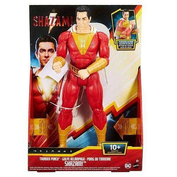 DC Comics Shazam c/  luz e Som
