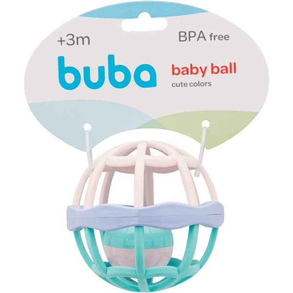 Baby Ball Cute Colors OLORS ROXO/ROSA/AZ BB 11850