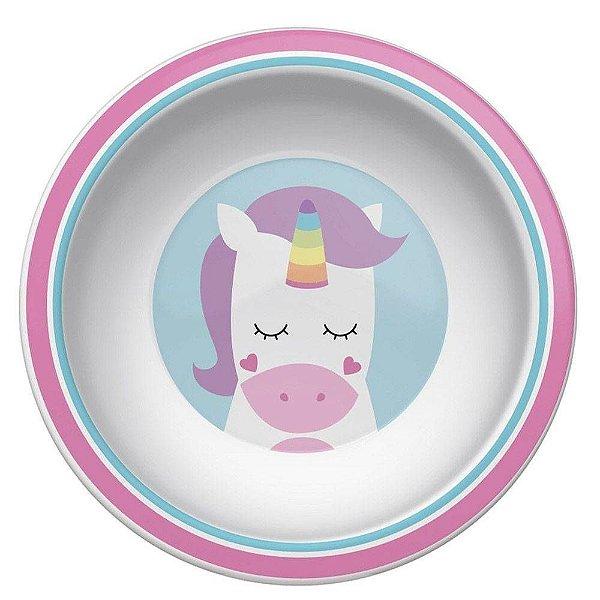 Pratinho Bowl Animal Fun Unicornio