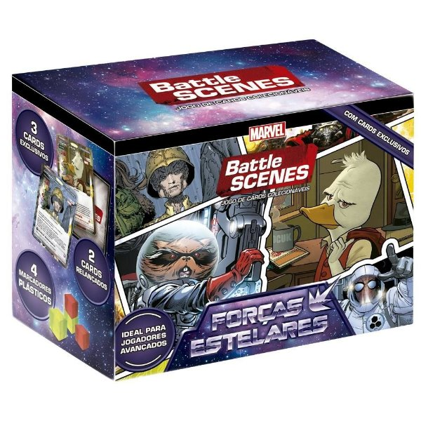 Box Battle Scenes Forças Estelares