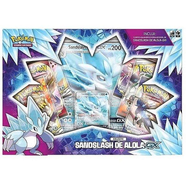 Box Pokemon Sandslash de Alola