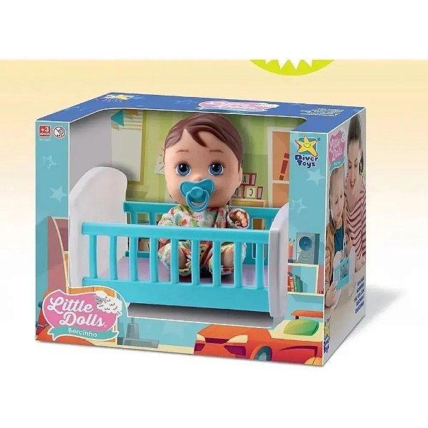 Boneca Little  Dolls Bercinho Menino