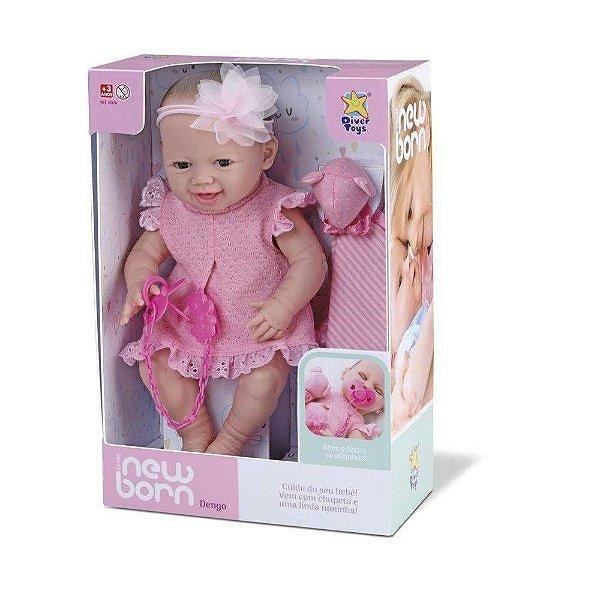 Boneca Newborn Dengo Olho Móvel