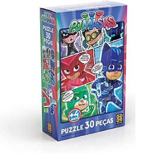 Puzzle PJ MASKS 30 pçs