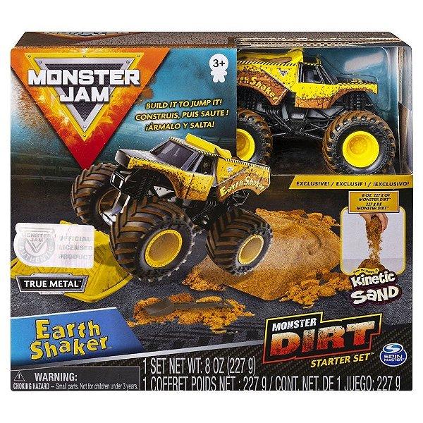 Monster Jam Playset com Pista