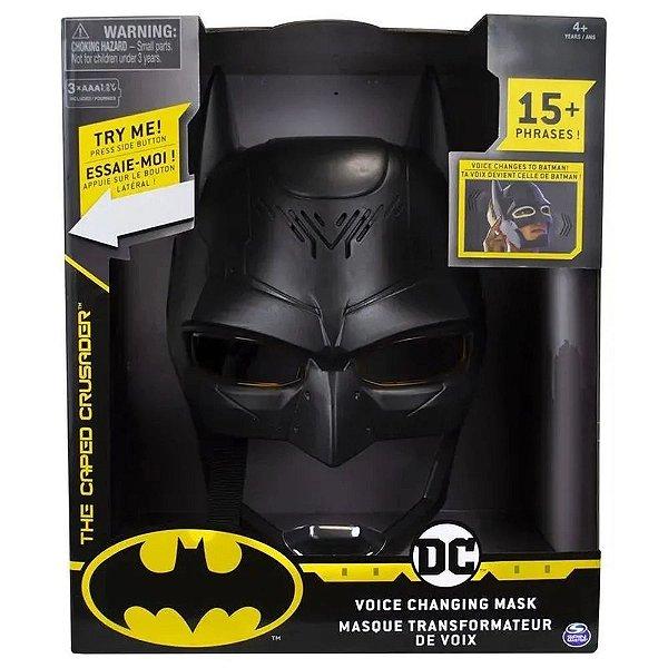 Máscara do Batman Troca Voz