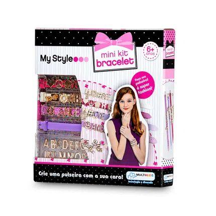 My Style MIni Kit Pulseiras com Letras