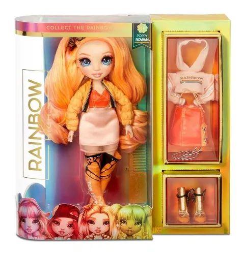Boneca Rainbow High Fashion - Poppy Rowan