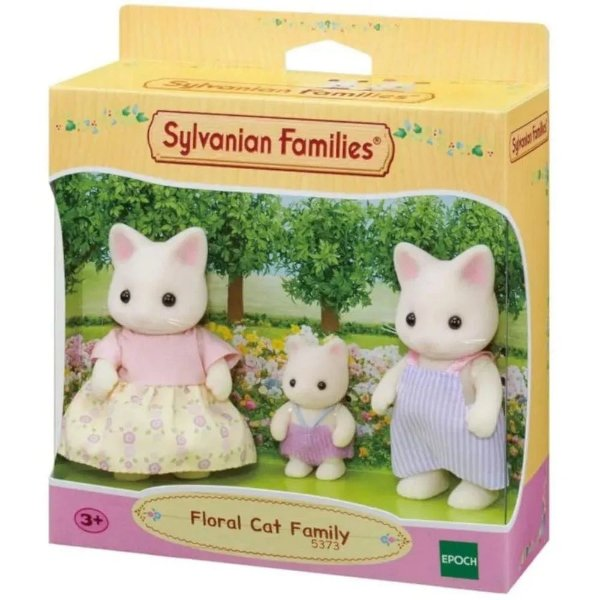 Sylvanian Familia dos Gatos Primavera