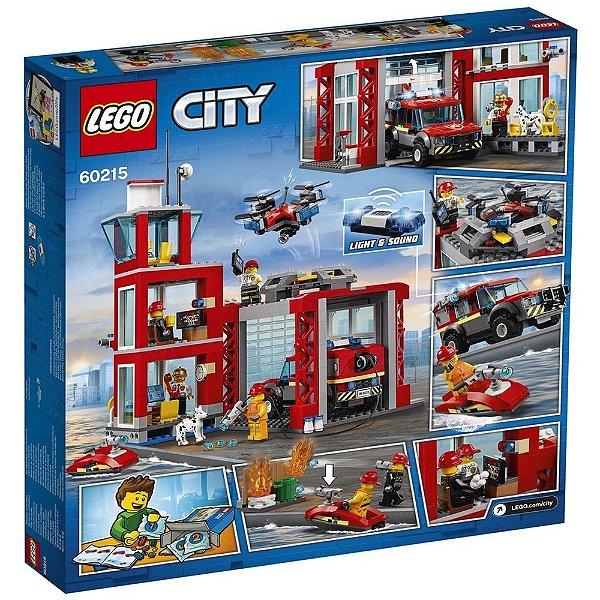 Lego City quartel dos Bombeiros