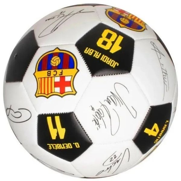 Bola Futebol Barcelona Assinatura