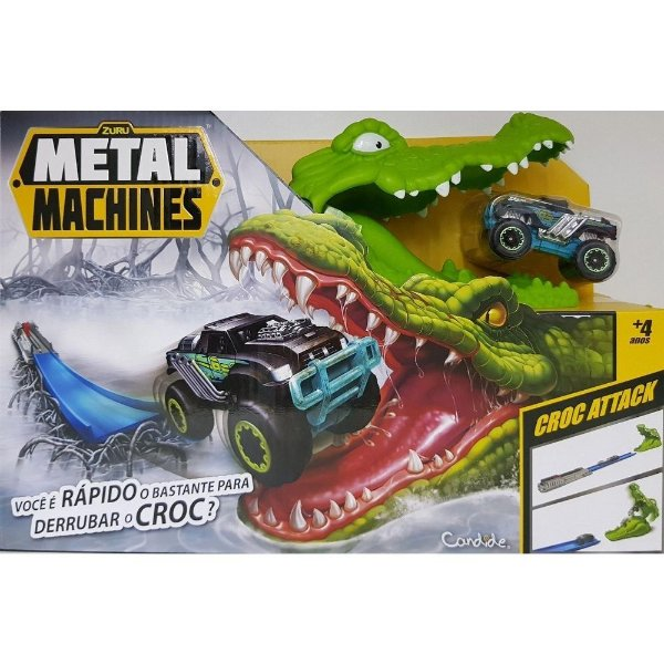 Pista Metal Machines Croc Attack