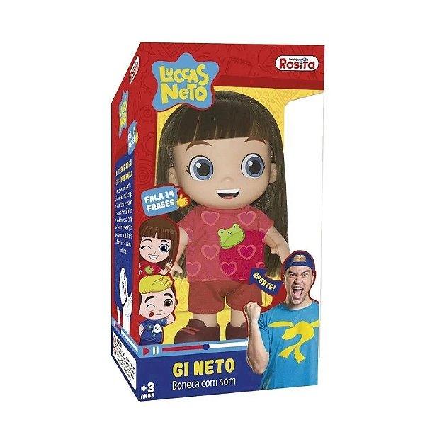 Boneca Giovanna Neto