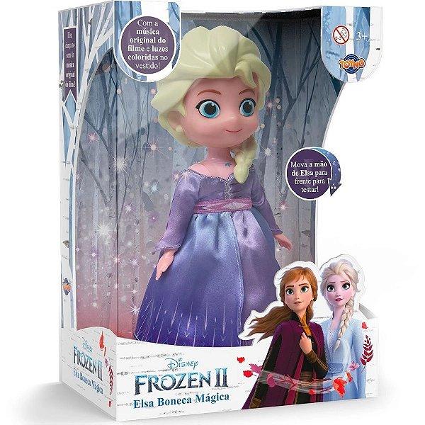 Boneca Frozen 2 Dancarina Com Musica