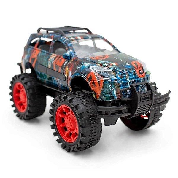 Carro Vingadores Pick-Up Fricção