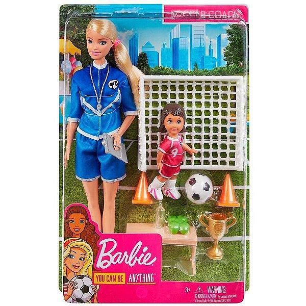 Barbie Treinadora de Futebol