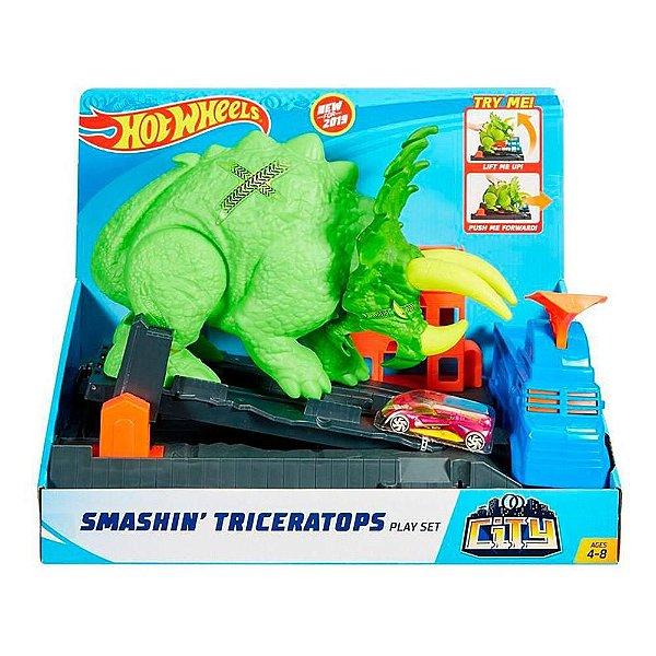 Hot Wheels Ataque De Triceratops
