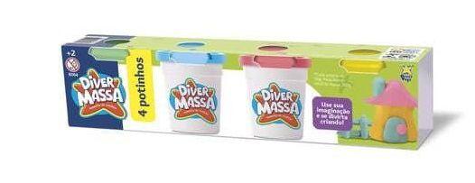 Diver massa kit com 4 potes