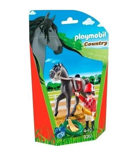 Playmobil Soft Bag Cavalos