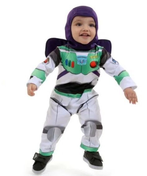 Fantasia buzz lightyear bebe