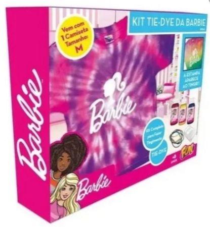 Kit Tie Dye da Barbie Camiseta Tam M