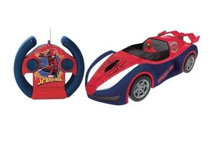 Veiculo Controle Remoto Spiderman Overdrive