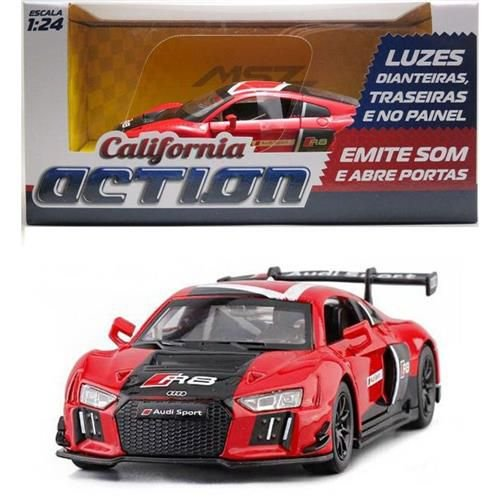Carro Audi R8 com luz e som - California Action