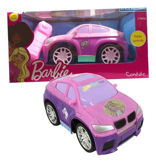 Carro Controle Remoto Barbie Style Machine