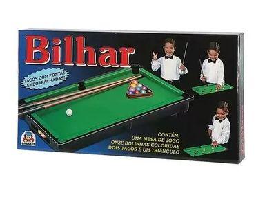 Jogo de Bilhar