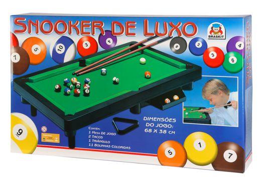 Jogo Snooker de Luxo