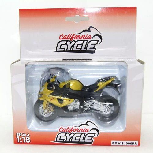 Mini Moto California Cycle - Escala 1:18