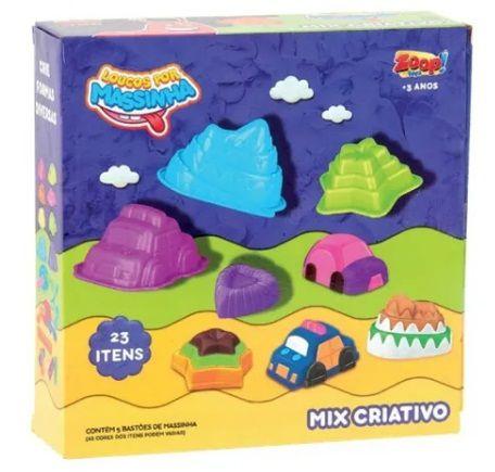 Massinha Mix Criativo 90gr