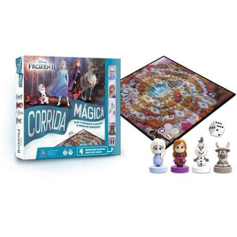 Jogo Corrida Mágica Frozen 2