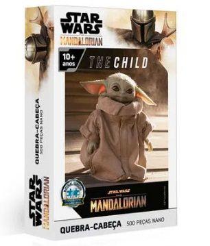 Quebra-Cabeça 500 Peças Star Wars The Child Nano
