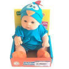 Boneca Vinil Galinha Pintadinha Mini Baby