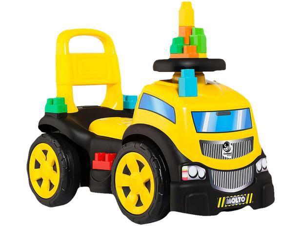 Baby Land Blocks Truck Ride on Menino