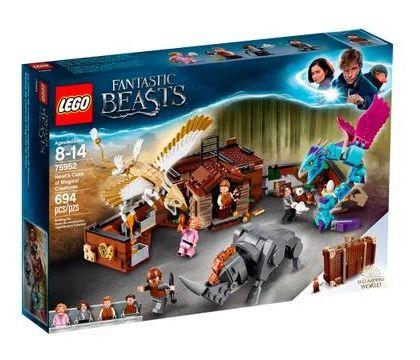 Lego Harry Potter Mala Criativa Magic Newt