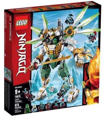 Lego Ninjago Robô Titã de Lloyd