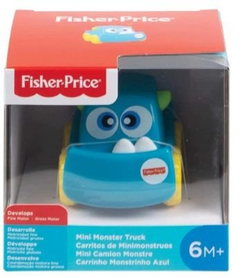 Carrinhos Monstrinhos divertidos Fisher Price