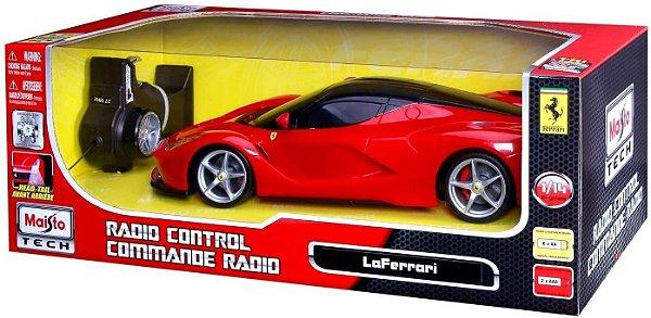 Carro La Ferrari controle remoto 1:14