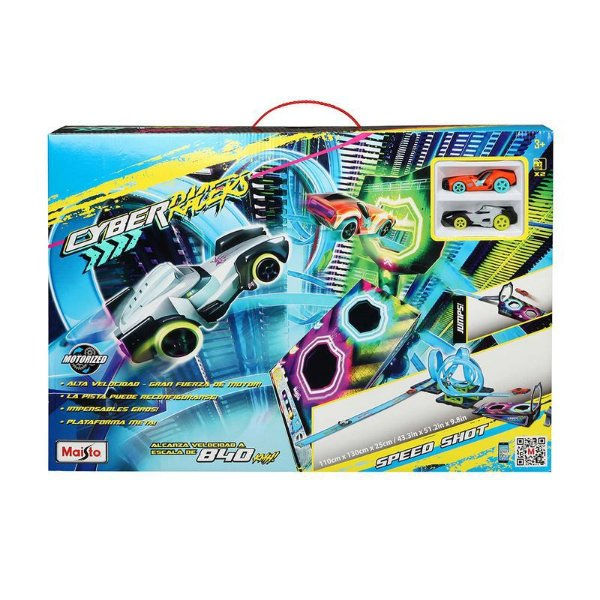 Pista Racer Track Speed Shot