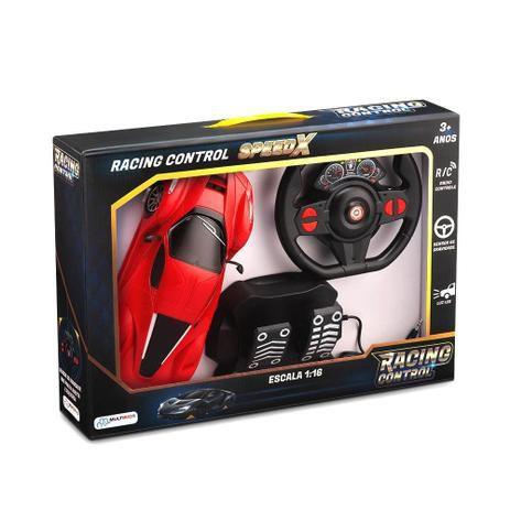 Carro Racing Control Speed X Vermelho
