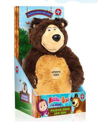 Pelúcia Urso Com Som