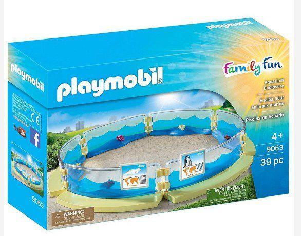 Playmobil Cercado Para Aquário