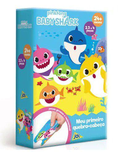 Meu Primeiro Quebra Cabeça Baby Shark