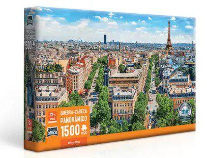 Quebra-Cabeça 1500 Peças Belle Paris