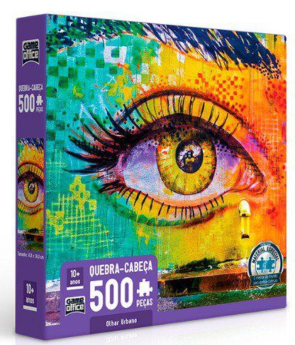 Quebra Cabeça 500 peças Olhar Urbano